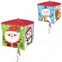 Μπαλόνι Κύβος Χριστουγεννιάτικοι χαρακτήρες