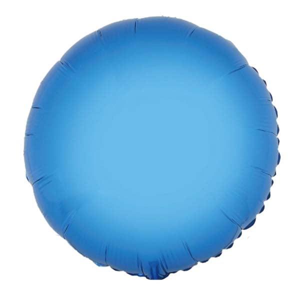 Μπαλόνι μπλε ολοστρόγγυλο 18″