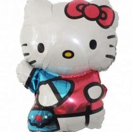 Μπαλόνι φιγούρα Hello Kitty κόκκινο