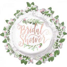 Μπαλόνι Bridal Shower με φύλλα 76 εκ
