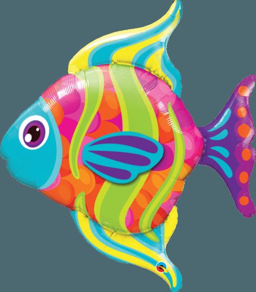 Μπαλόνι μοντέρνο ψάρι 109 εκ