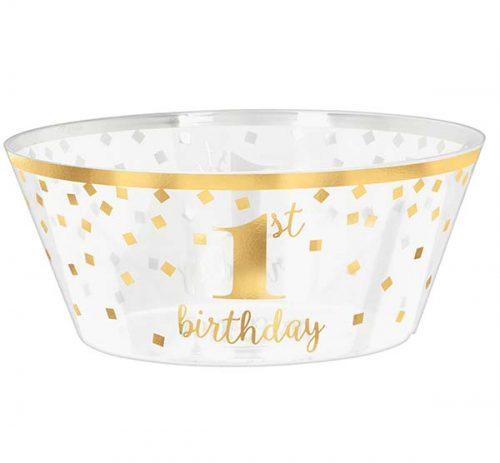 Μπολ σερβιρίσματος 1st birthday