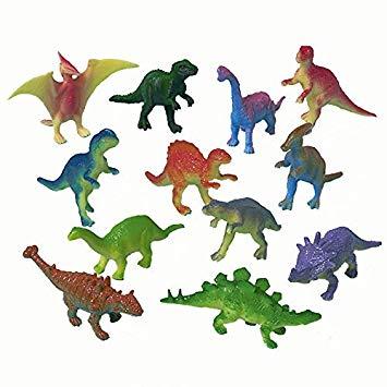 Παιχνίδια μινιατούρες Δεινόσαυροι (12 Τεμ)