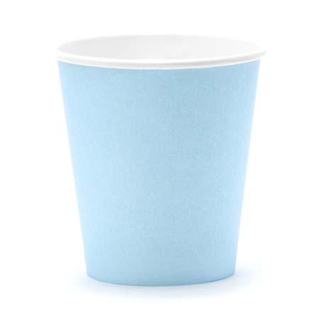 Ποτήρια πάρτυ γαλάζιο (6 τεμ)