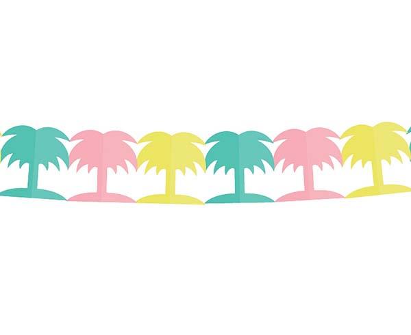 Διακοσμητική γιρλάντα Πολύχρωμος φοίνικας