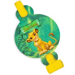 Χάρτινα Blowouts Lion King (8 τεμ)