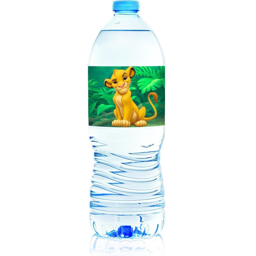 Χάρτινες ετικέτες νερού Lion King