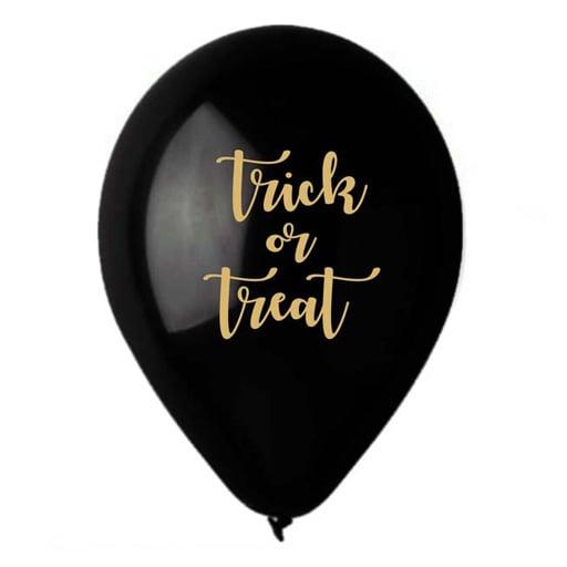 """12″ Μπαλόνι τυπωμένο """"Trick or Treat"""""""