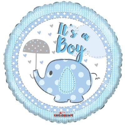 Μπαλόνι γέννησης It's a Boy ελεφαντάκι