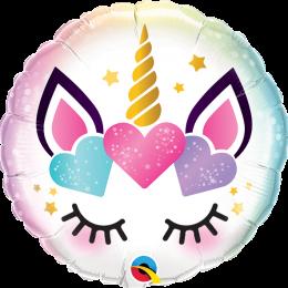 Μπαλόνι γλυκός μονόκερος 46εκ