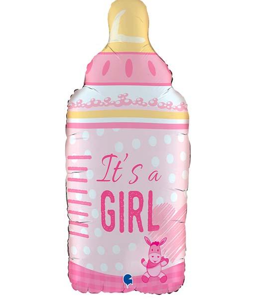 Μπαλόνι γέννησης Μπιμπερό It's a Girl 74 εκ