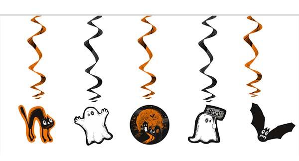"""Διακοσμητικά οροφής Halloween """"BOO"""""""