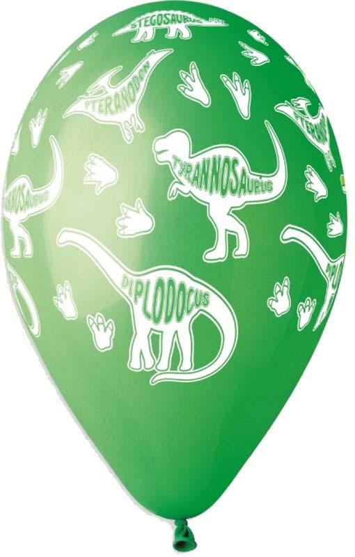 12″ Μπαλόνια τυπωμένα Δεινόσαυροι