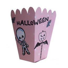 Κουτάκι για Ποπκορν ροζ Halloween
