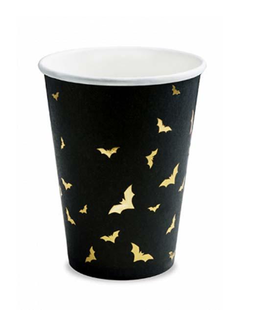 Ποτήρι πάρτυ Νυχτερίδες (6 τεμ)