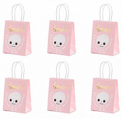 Χάρτινες σακούλες δώρων BOO (6 τεμ)