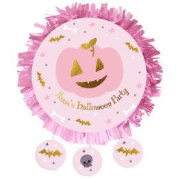 Πινιάτα Halloween ροζ Κολοκύθα