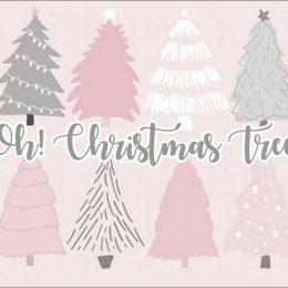 """Ευχαριστήριο καρτάκι """"Christmas Tree"""""""