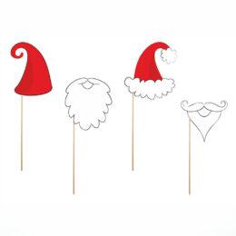 Στικάκια PhotoBooth Άγιος Βασίλης (4 τεμ)