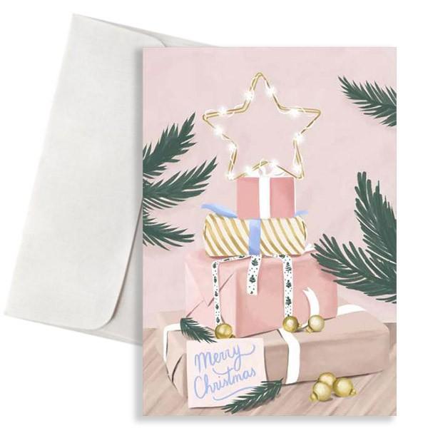 Χριστουγεννιάτικη κάρτα Δώρα