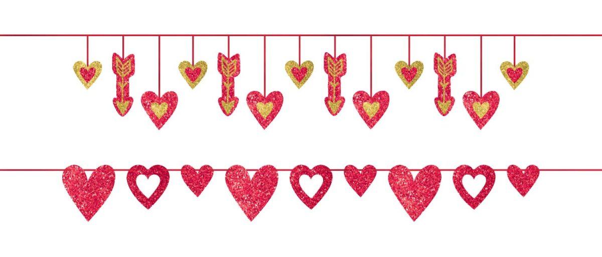 Μπάνερ Valentine's Day (2 pcs)
