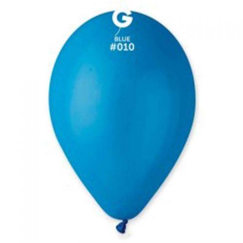 """9"""" Μπλε λάτεξ μπαλόνι"""