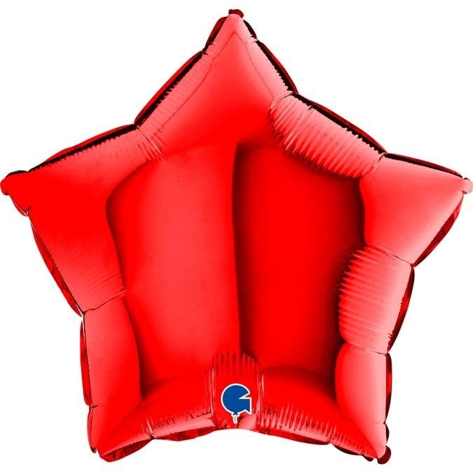 """Μπαλόνι κόκκινο αστέρι 18"""""""