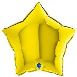 Μπαλόνι κίτρινο αστέρι 18″