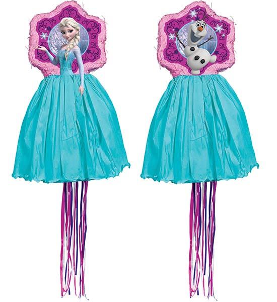 Πινιάτα με κορδέλες Έλσα Frozen