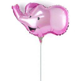 Μπαλόνι με καλαμάκι Ελεφαντάκι 35 εκ