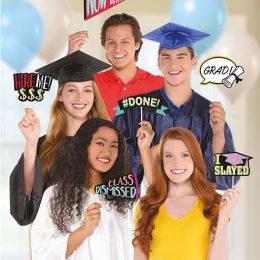 Σετ στικάκια Photo booth Αποφοίτησης (13 τεμ)