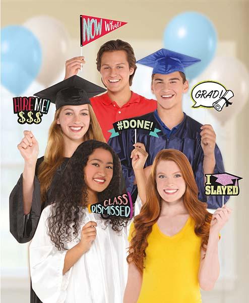 Σετ στικάκια Photo booth Αποφοίτησης (13 τμχ)
