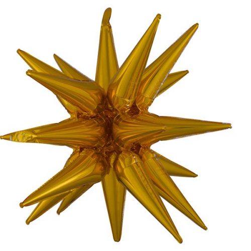 Μπαλόνι χρυσό αστέρι 88 εκ.