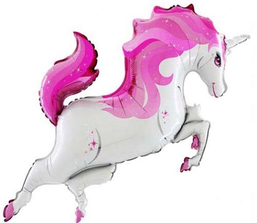 Μπαλόνι Μονόκερος ροζ 122 εκ