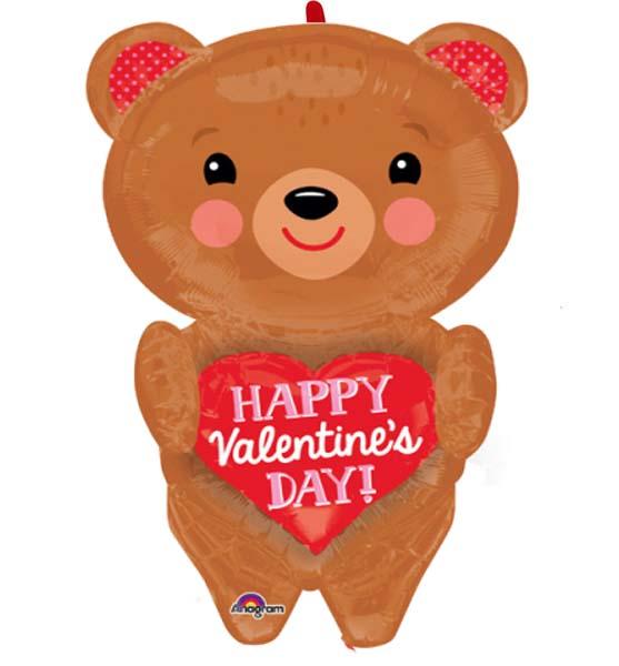 Μπαλόνι αγάπης Αρκουδάκι με καρδιά 71 εκ.