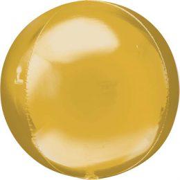 Μπαλόνι μεγάλο χρυσό τρισδιάστατη σφαίρα 53εκ.