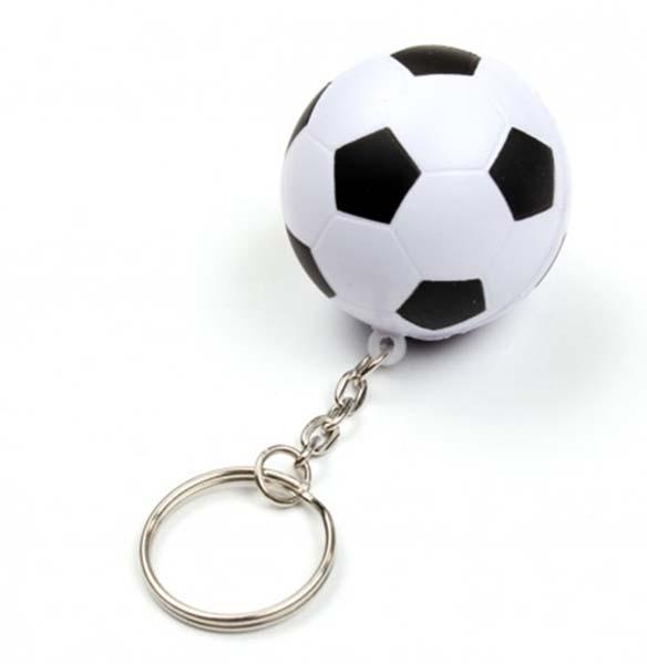 Κλειδοθήκη πλαστική μπάλα ποδοσφαίρου (12 τεμ)