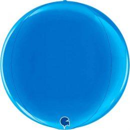 Μπαλόνι μπλε τρισδιάστατη σφαίρα ORBZ