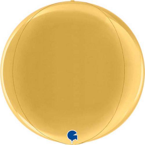 Μπαλόνι χρυσό τρισδιάστατη σφαίρα ORBZ