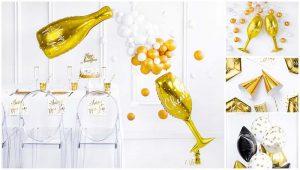 Χριτουγεννιατικη διακόσμηση με μπαλόνια