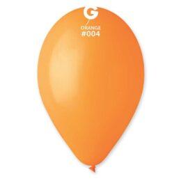 9″ Πορτοκαλί λάτεξ μπαλόνι