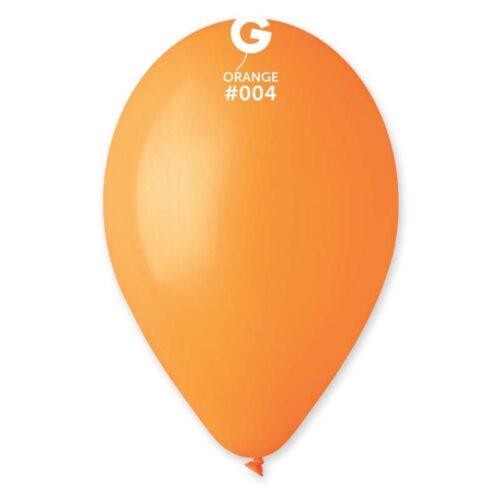 """9"""" Πορτοκαλί λάτεξ μπαλόνι"""