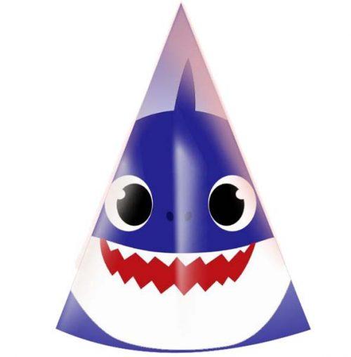 Καπελάκια Baby Shark (5 τμχ)
