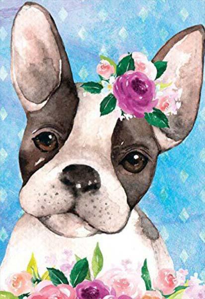Κάρτα πάρτυ Σκυλάκια (Σχέδιο 6)