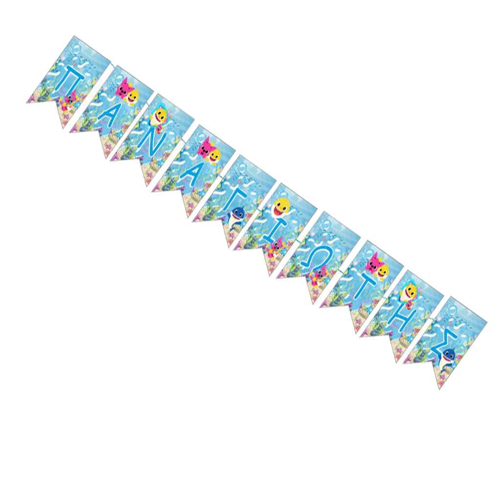 Σημαιάκια με όνομα Baby Shark