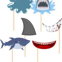 Στικάκι Photo Booth Shark Attack