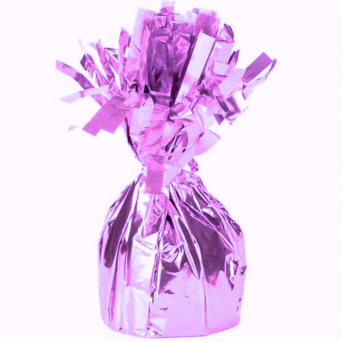 Βαράκι για μπαλόνια ροζ