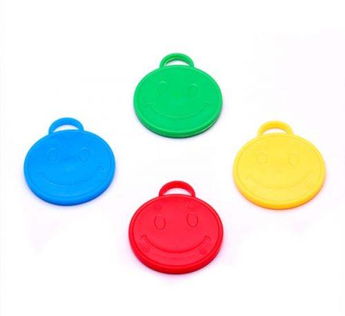 Βαράκια για μπαλόνια φατσούλες διάφορα χρώματα (10 τεμ)