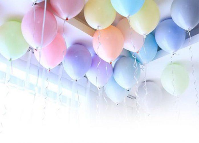 διακόσμηση πάρτι με μπαλόνια