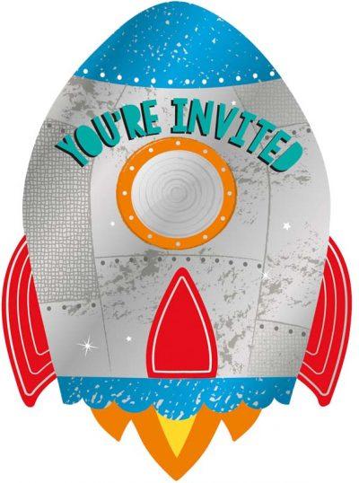 Προσκλήσεις πάρτυ Διάστημα
